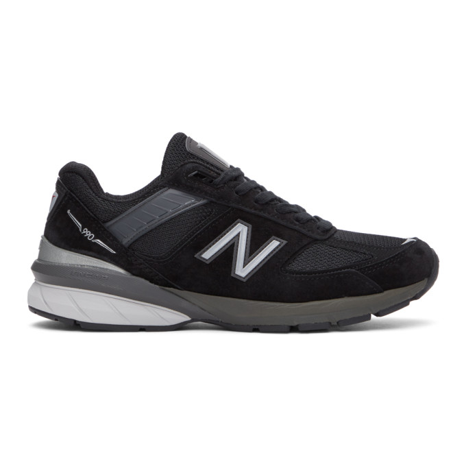 New Balance 黑色 990v5 美产运动鞋