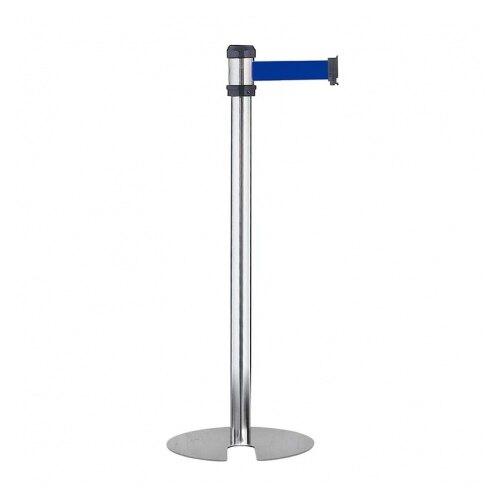萬向 多方向掛接 2 米伸縮帶 U型欄柱 銀柱 標準款 / 支 RS-A2SU