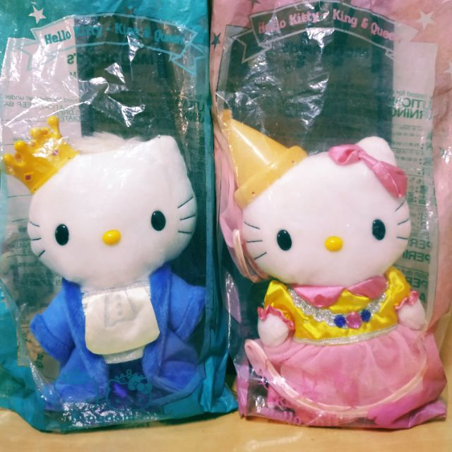 Hello Kitty King & Queen玩偶一對