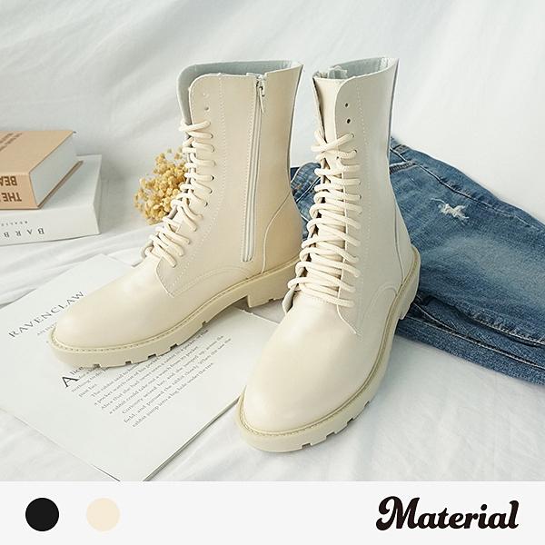 中長靴 率性綁帶中長靴 MA女鞋 T6617
