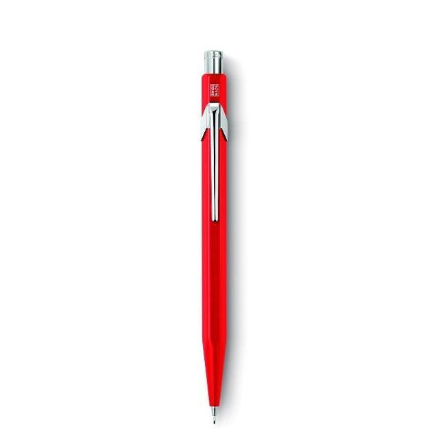 CARAN D'ACHE 844 0.5mm自動鉛筆/ 紅 eslite誠品