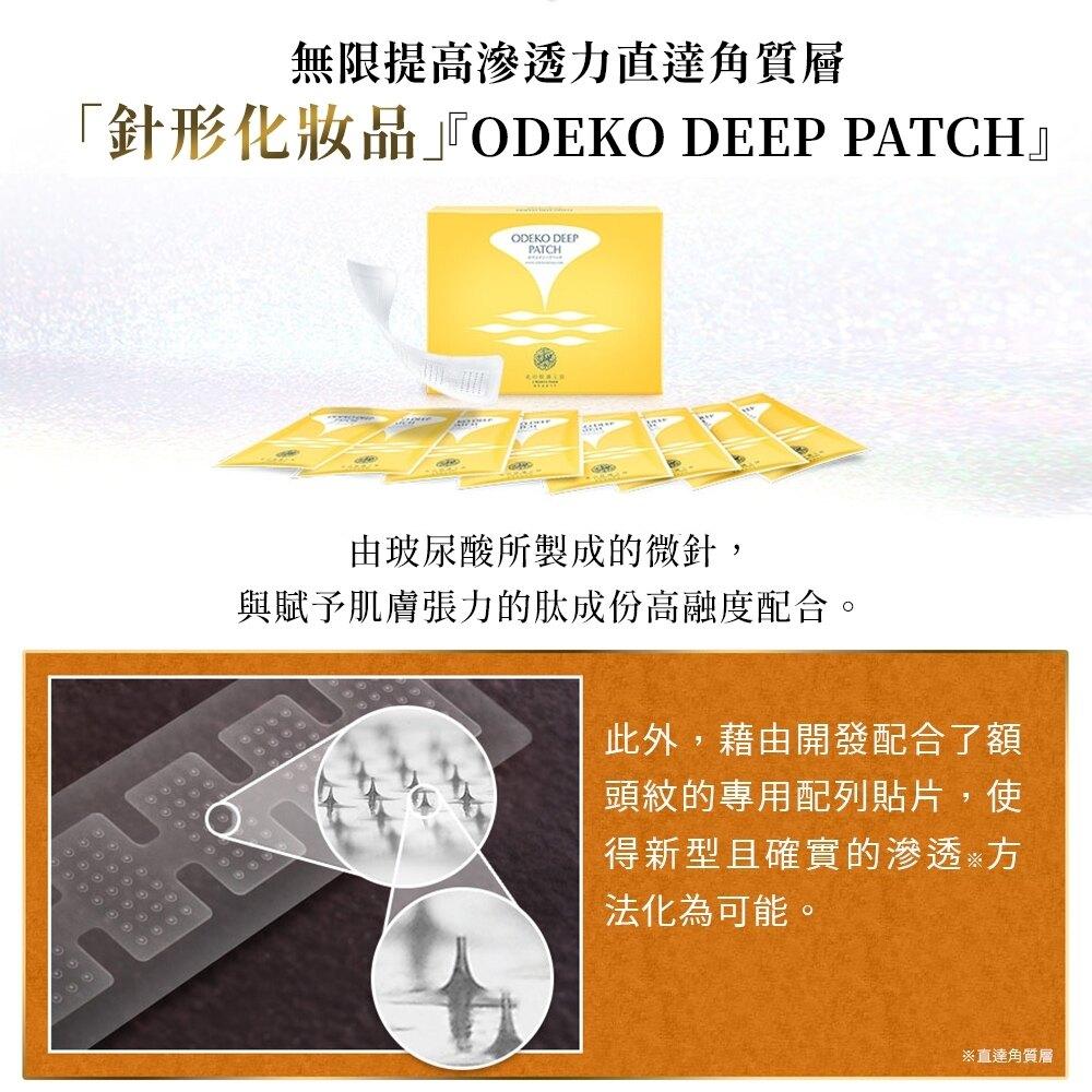 日本直送【北的快適工房 】 睡美人系列 ODEKO DEEP PATCH玻尿酸微針晚安豐額貼 全新上市 玻尿酸微針豐額