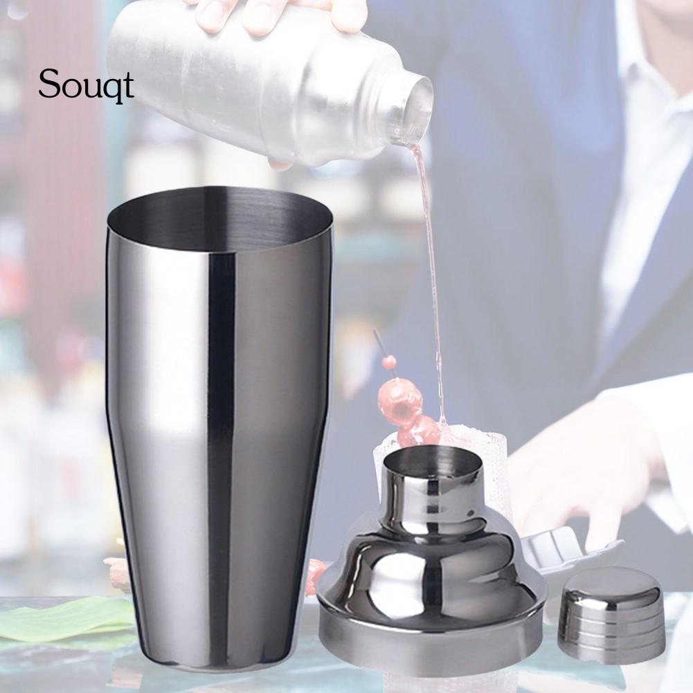 SQ 700毫升不銹鋼調酒器酒果汁牛奶茶攪拌機家用酒吧工具