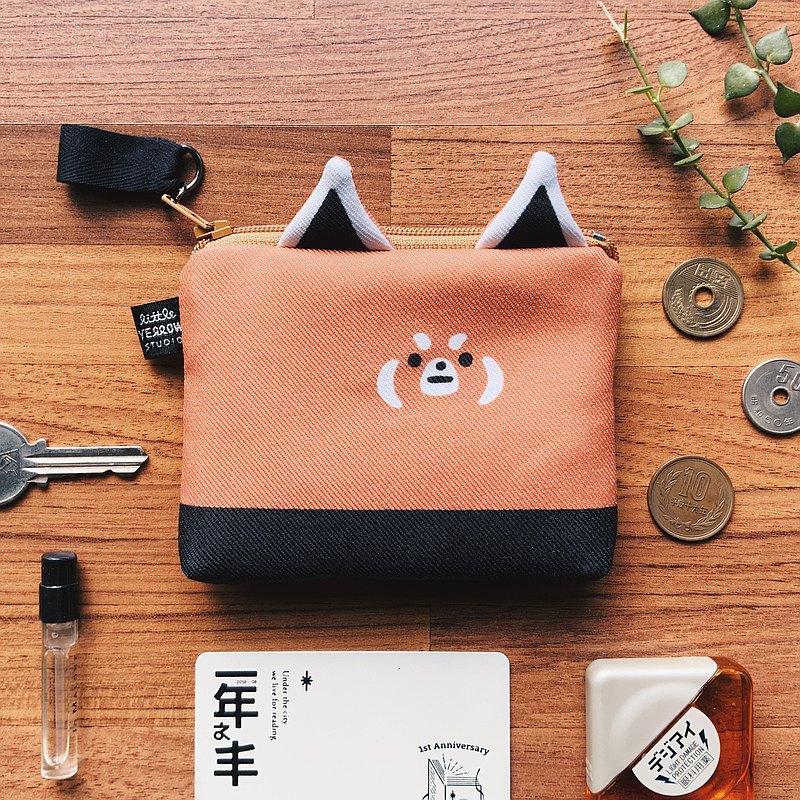 造型卡套零錢包 - 小貓熊