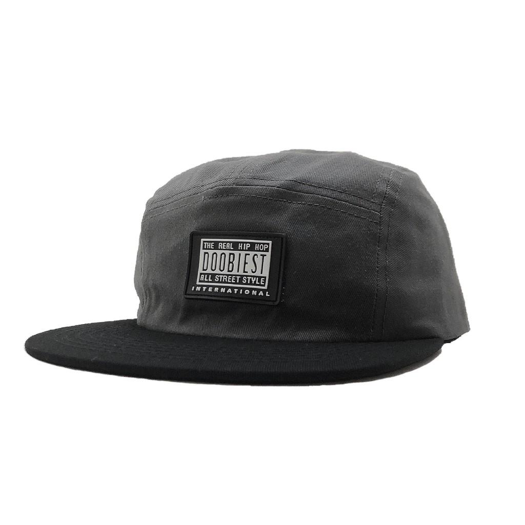 DOOBIEST CAMP CAP / 5 PANEL CAP五分割 (深灰)【DOOBIEST】