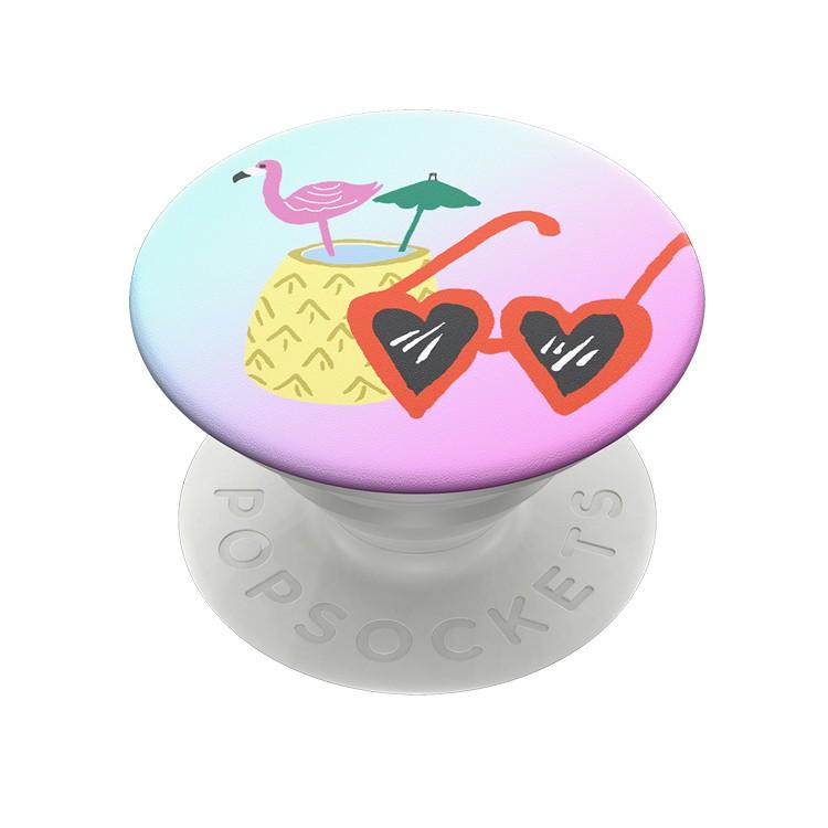【PopSockets 泡泡騷】二代可替換美國專利氣囊伸縮手機支架 - 夏日火鳥