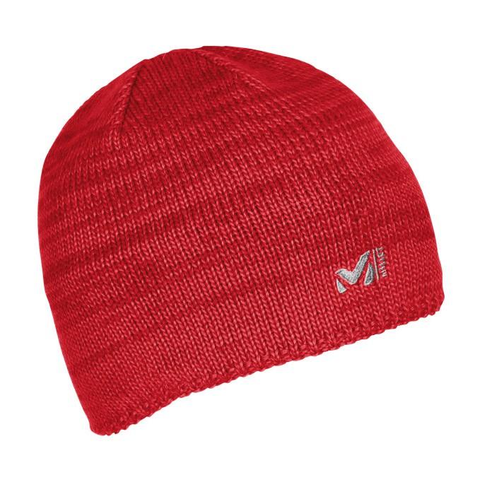 法國[MILLET]TYAK BEANIE/ 美麗諾羊毛保暖毛帽 紅色《長毛象休閒旅遊名店》