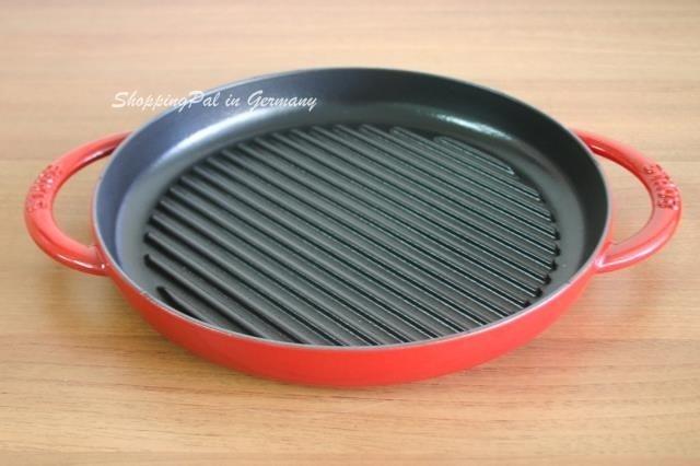 法國 Staub 圓形條紋烤盤 26 cm