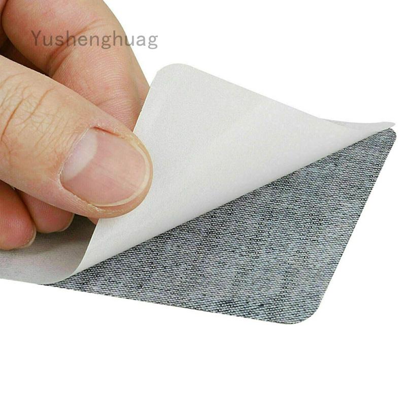 Yushenghuag Anyiruanjian Iron On Denim Patch 修補套件, 用於衣服, 牛仔褲