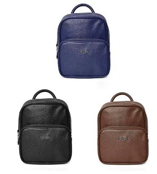 ~雪黛屋~KANGOL 後背包三用功能超小容量主袋+外袋共二層進口防水防刮皮革材質手提L69553204