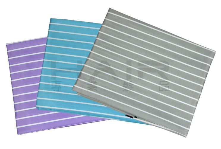 條紋防靜電圍巾(鈕扣式)