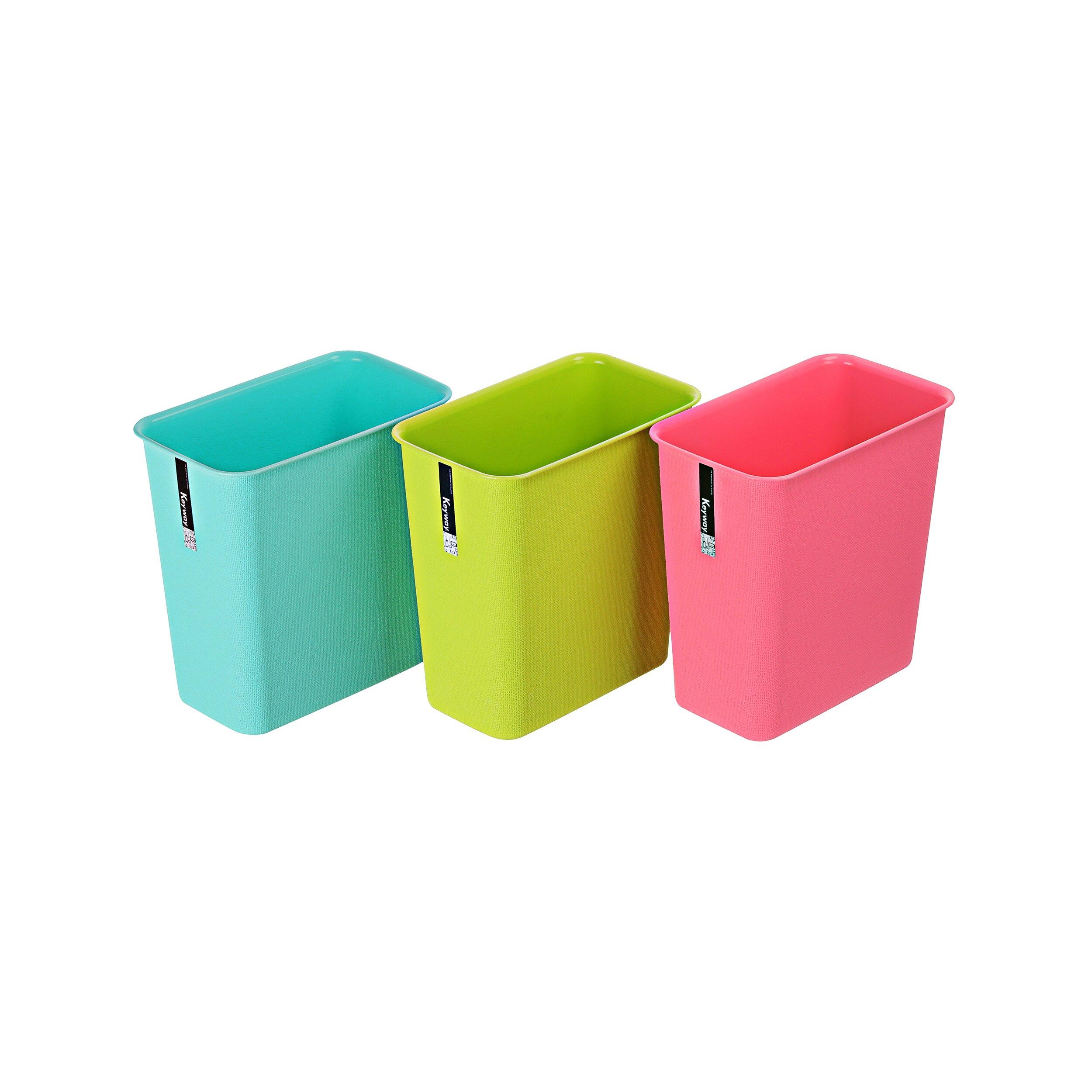 長型垃圾桶/色彩風格/MIT台灣製造  中彩虹垃圾桶(長型)  C9302 KEYWAY聯府
