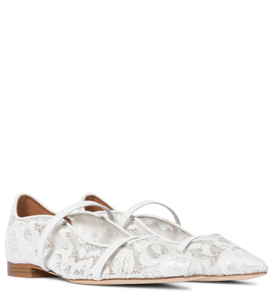 Exclusive to Mytheresa - Maureen floral lace ballet flats