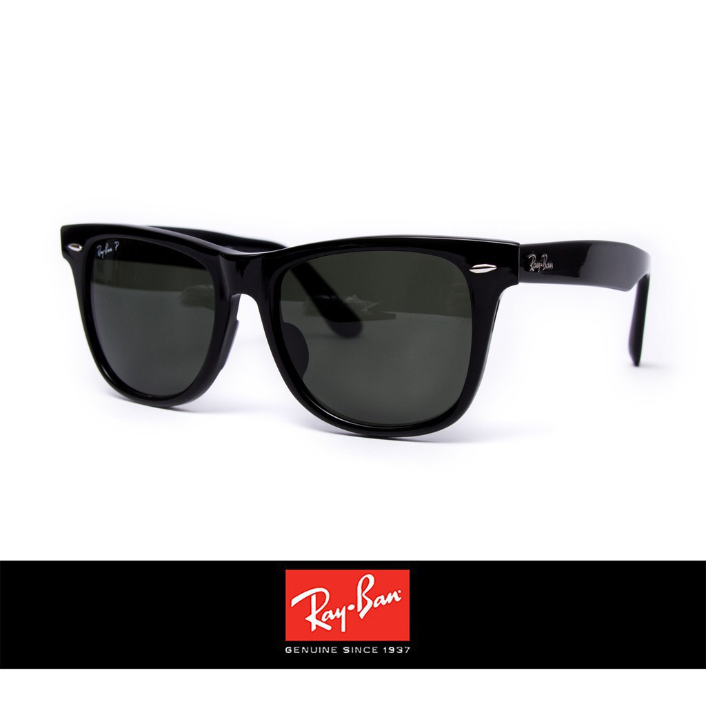 Ray Ban 雷朋 2140F 亞洲人專用 鼻樑改良 偏光鏡片 抗UV 太陽眼鏡 墨鏡 男款 Outlet直購正品