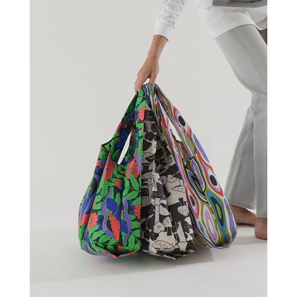 《BAGGU》口袋購物袋(M)3入組-森林