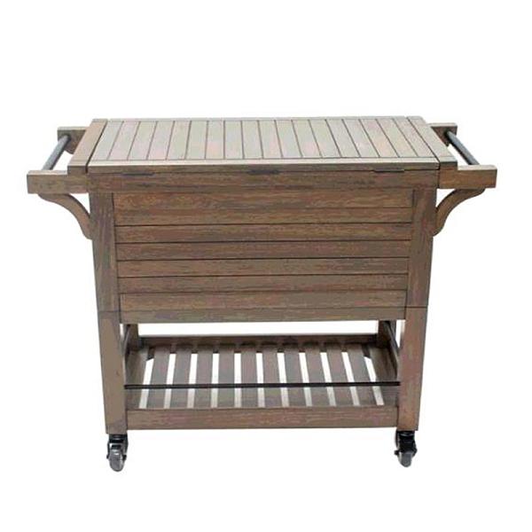[COSCO代購] W1356876 Tommy Bahama 木製推車保冷吧檯