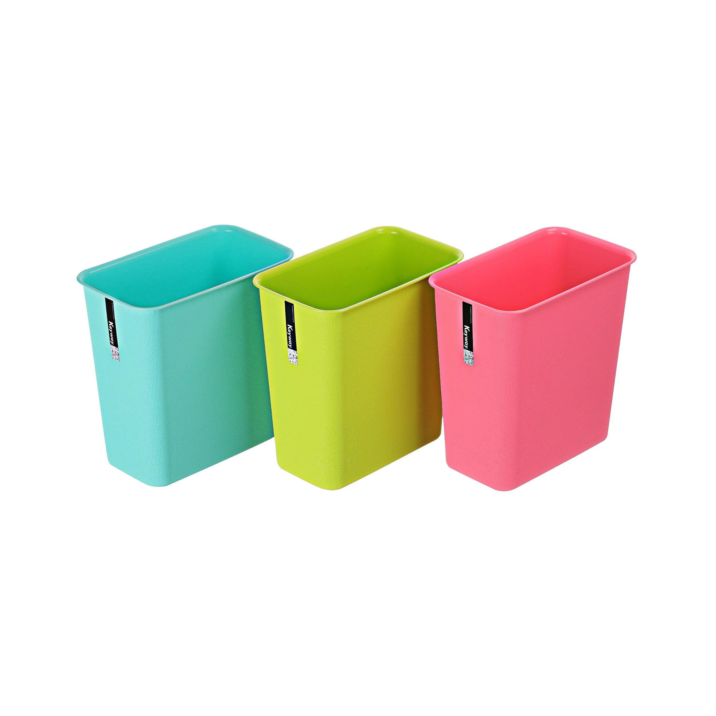 長型垃圾桶/色彩風格/MIT台灣製造  大彩虹垃圾桶(長型)  C9301 KEYWAY聯府