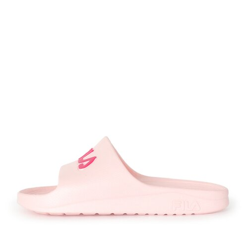 Fila Sleek Slide [4-S355R-555] 男女鞋 運動 涼鞋 拖鞋 休閒 舒適 輕量 防水 粉紅
