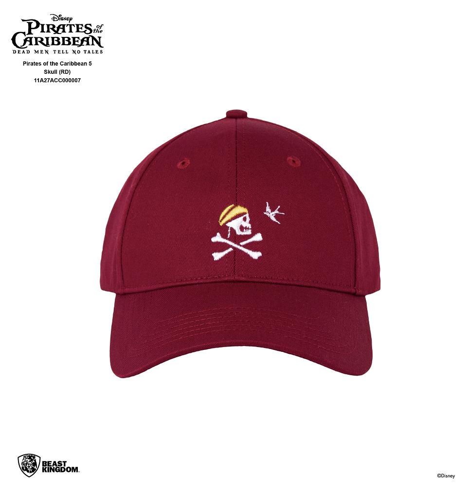 加勒比海盜 神鬼奇航:死無對證 棒球帽