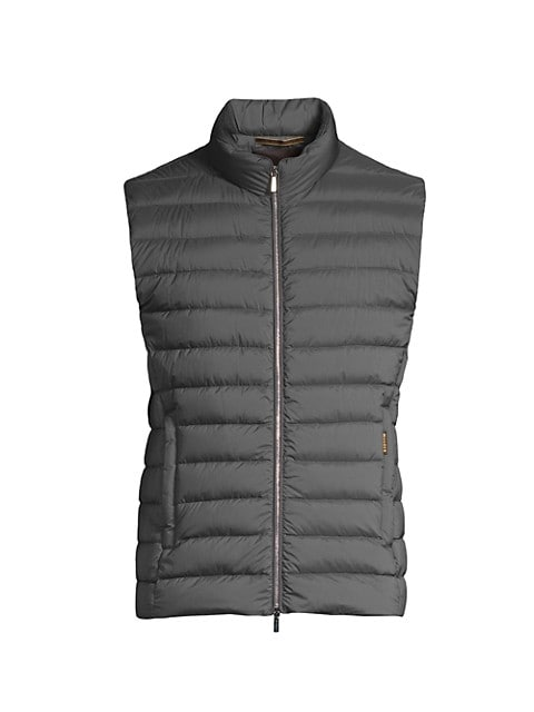 Slim-Fit Lightweight Puffer Vest