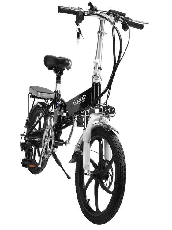 【快速出貨】樂益達 16寸摺疊電動自行車48v鋰電池超輕便攜式成人電瓶車單車20寸 聖誕禮物