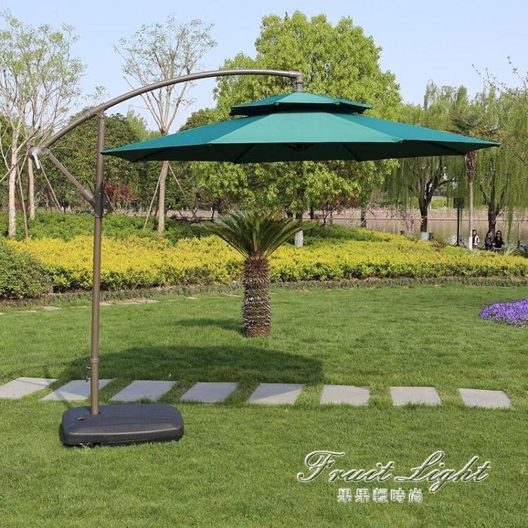 戶外遮陽傘大傘戶外擺攤庭院傘防曬防紫外線摺疊雨傘戶外遮陽傘