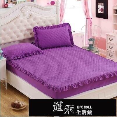 夾棉加厚床笠單件床罩加棉席夢思床墊保護套床套床單1.8防滑固定