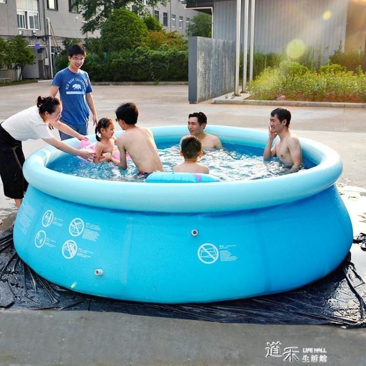 充氣泳池充氣加厚超大戶外大型游泳桶