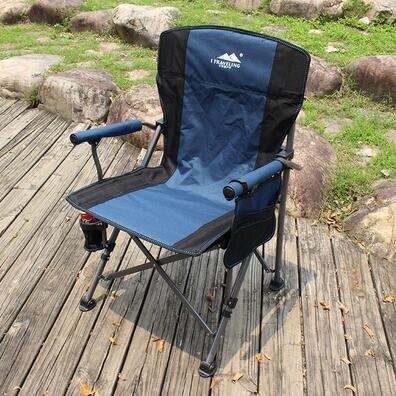 戶外釣魚椅子折疊便攜式休閑椅垂釣凳子電腦椅子野營露營登山椅子