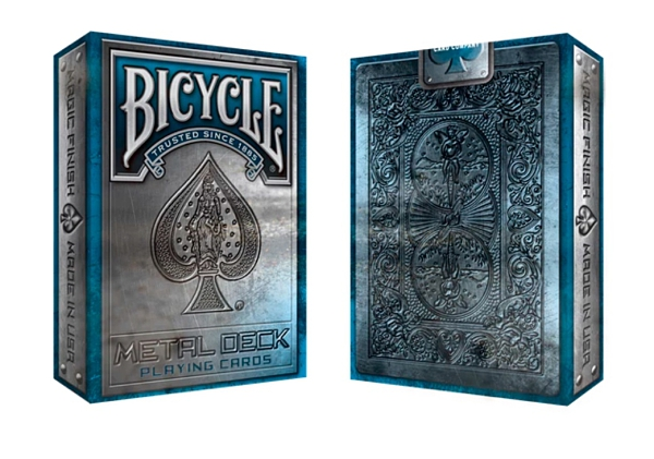 【USPCC撲克】Bicycle Metal Deck (Blue)