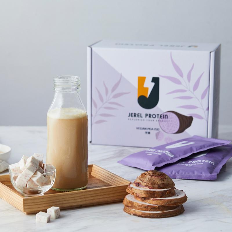 漢娜 Hana 推薦款[Jerel Protein] 捷銳蛋白 豌豆分離蛋白 (盒/15入) (全素) 芋頭