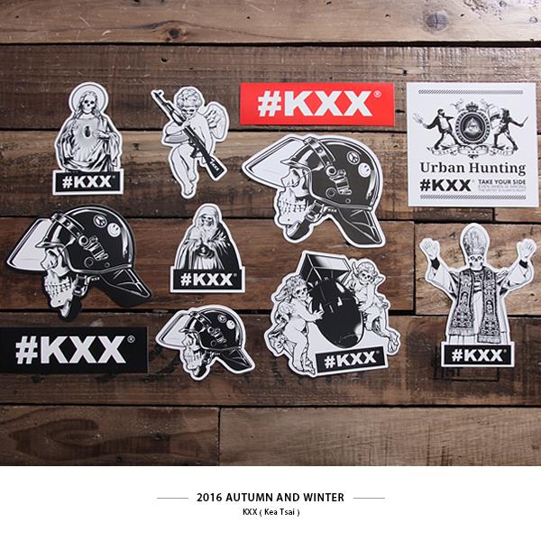 CROXXBONES #KXX街頭貼紙B