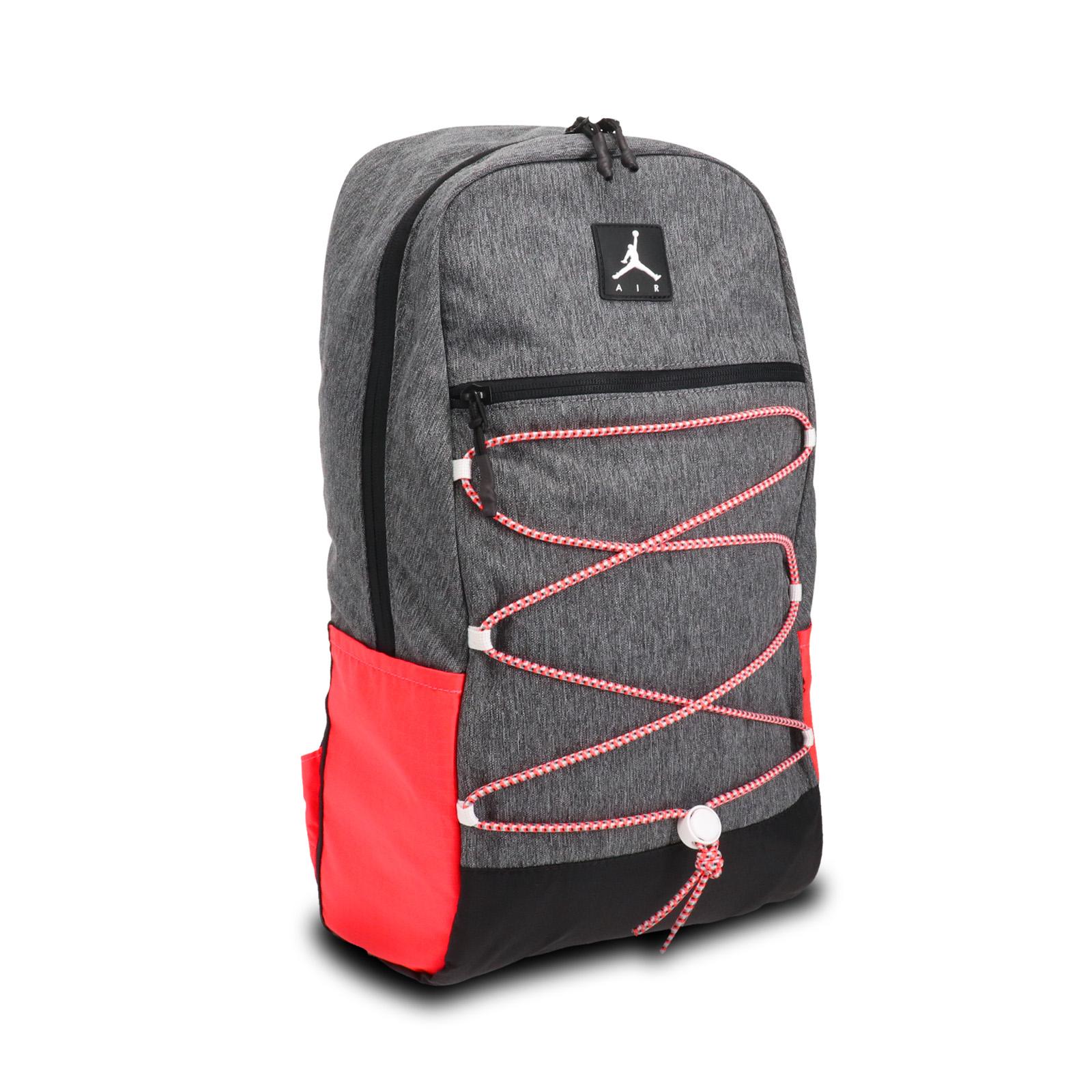 Nike 後背包 Jordan Backpack 灰 橘 男女款 喬丹 手提【ACS】 JD2043002AD-002