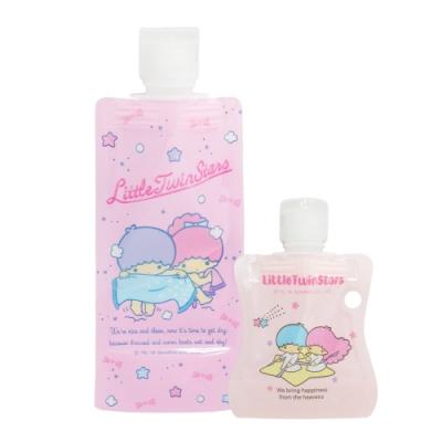 HELLO KITTY/雙子星化妝品分裝袋組-買2送2