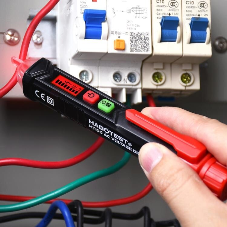 智能測電筆非接觸式感應電筆家用電工專用工具線路檢測驗電查斷點