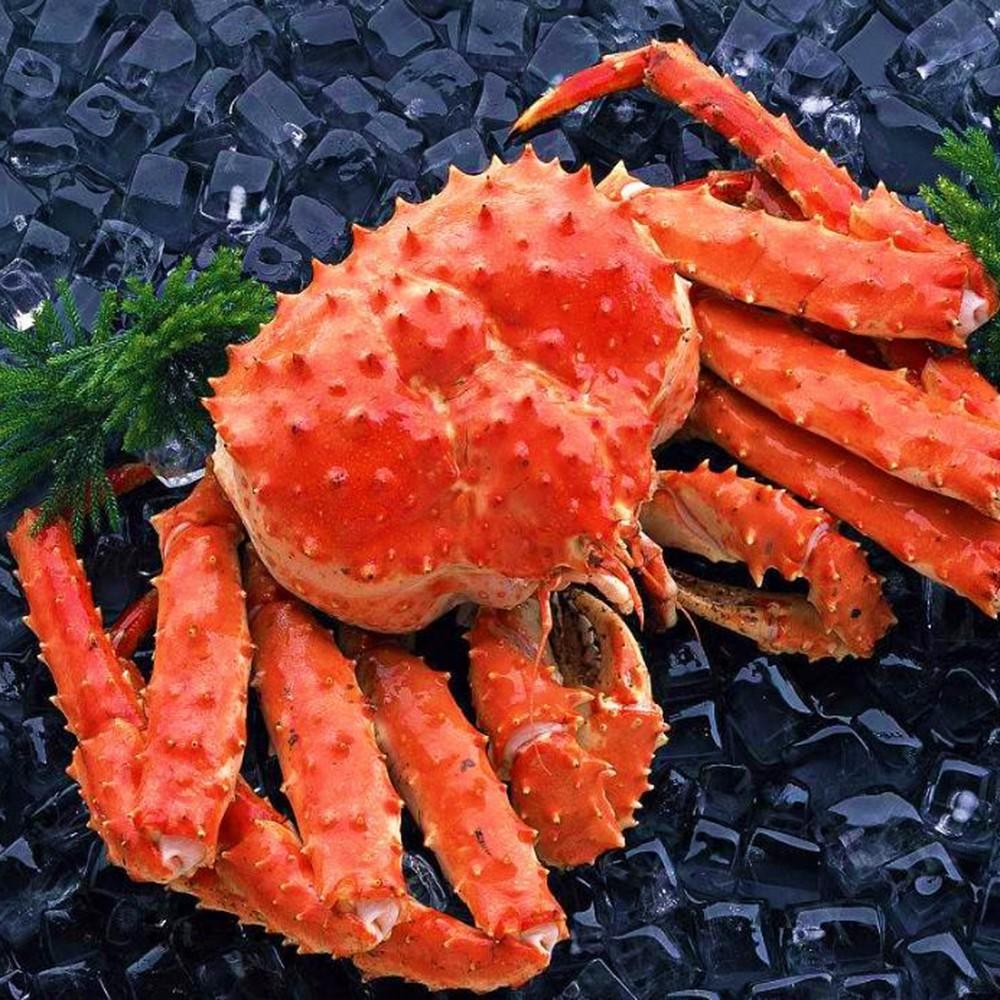 【上野物產】智利熟凍帝王蟹 1~1.2kg/隻