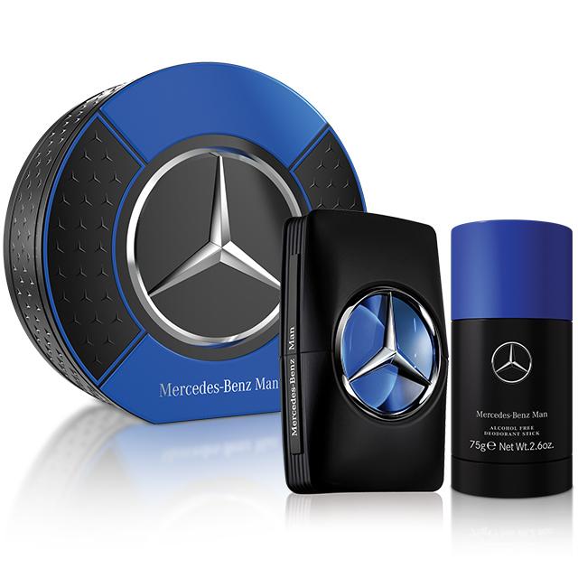Mercedes Benz 賓士王者之星男性淡香水禮盒