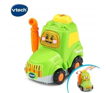 美國 Vtech 嘟嘟聲光互動車-拖拉機