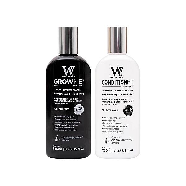 英國 WATERMANS 專業育髮洗髮露/護髮素(250ml) 款式可選【小三美日】