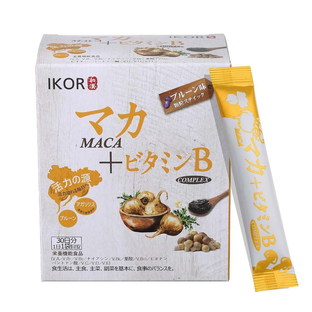 IKOR 醫珂 和漢元氣瑪卡BB顆粒食品 (30袋/盒) 公司貨 精神好體力 瞌睡蟲不再 精氣神 最強防護 B群