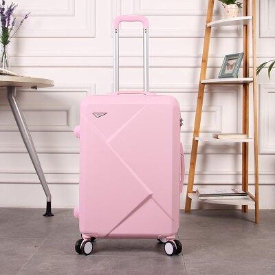 20寸時尚韓版行李箱萬向輪登機箱24大容量子女學生密碼箱男