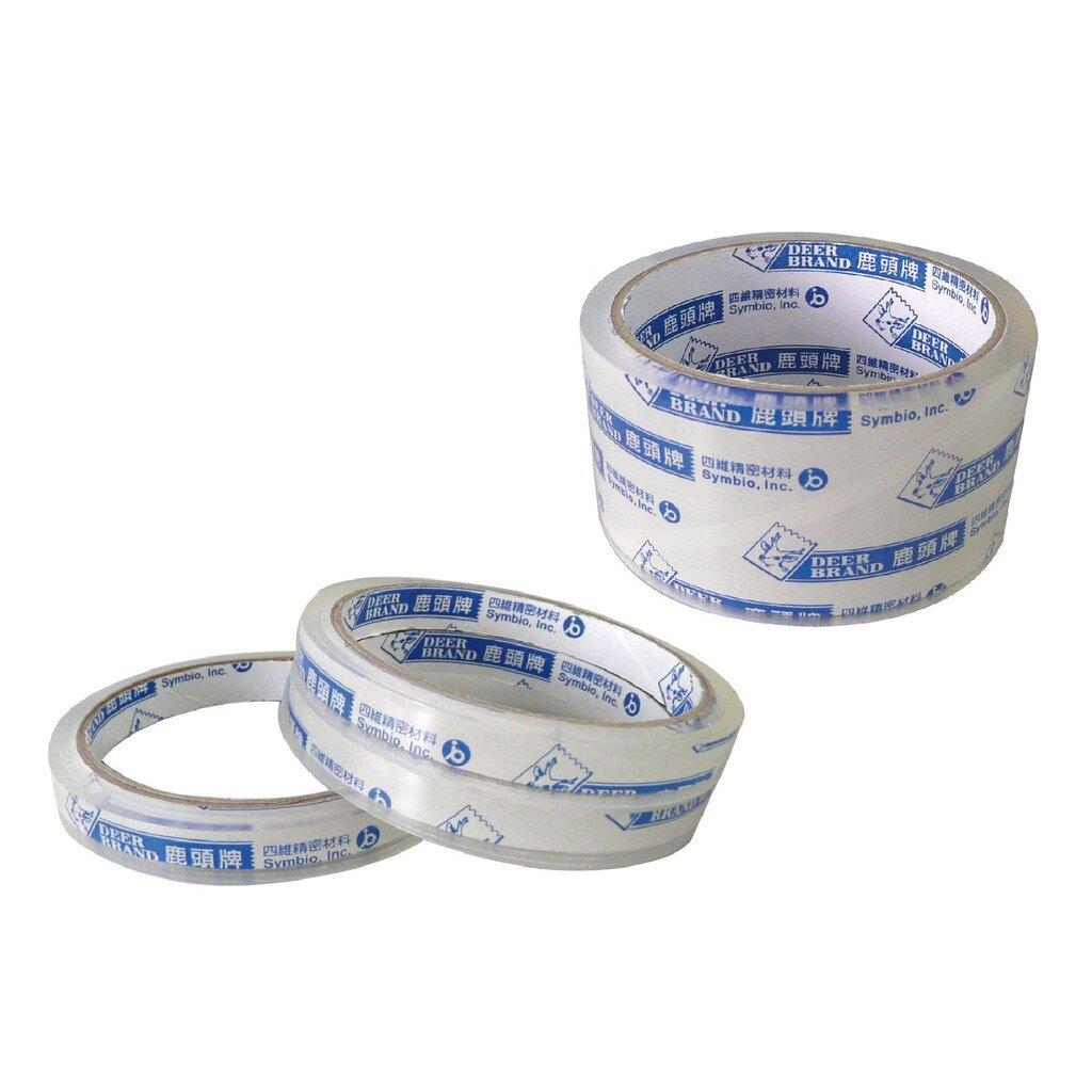 鹿頭牌 OPP超透明膠帶 透明膠帶 文具膠帶 膠帶【BN03425】