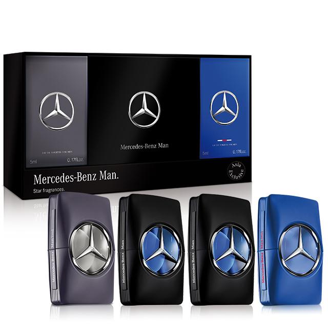 Mercedes Benz 賓士亞洲版四入小香禮盒