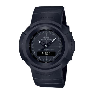 CASIO卡西歐 G-SHOCK 經典復刻 簡約時尚 黑 AW-500BB-1E_47.7mm