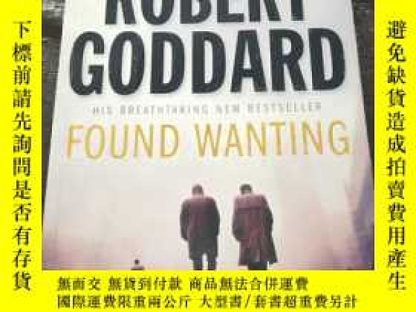 二手書博民逛書店ROBERT罕見GODDARD FOUND WANTING 請看圖Y181138 Robert Goddard