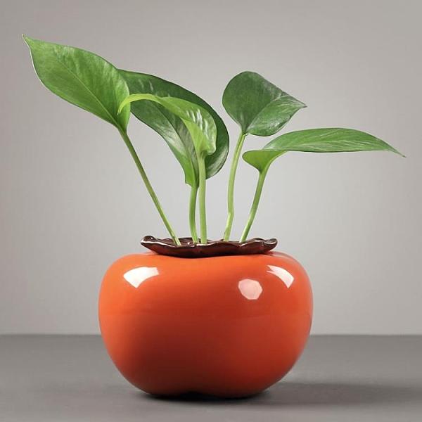 水培花瓶創意鮮花插花瓶子水養植物花盆桌面裝飾擺件【聚寶屋】