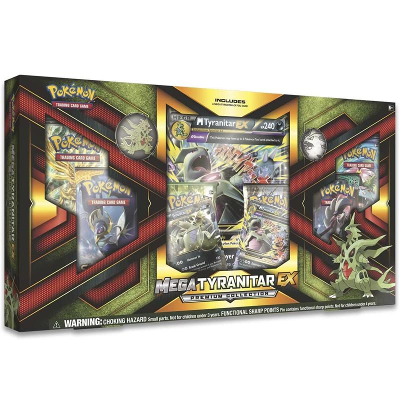 寵物小精靈 Pokemon TCG: Mega Tyranitar EX Premium Collection Box