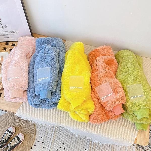 兒童棉服 兒童羊羔毛夾克冬裝新款網紅款女童泰迪絨保暖棉服外穿加厚外套潮 莎瓦迪卡