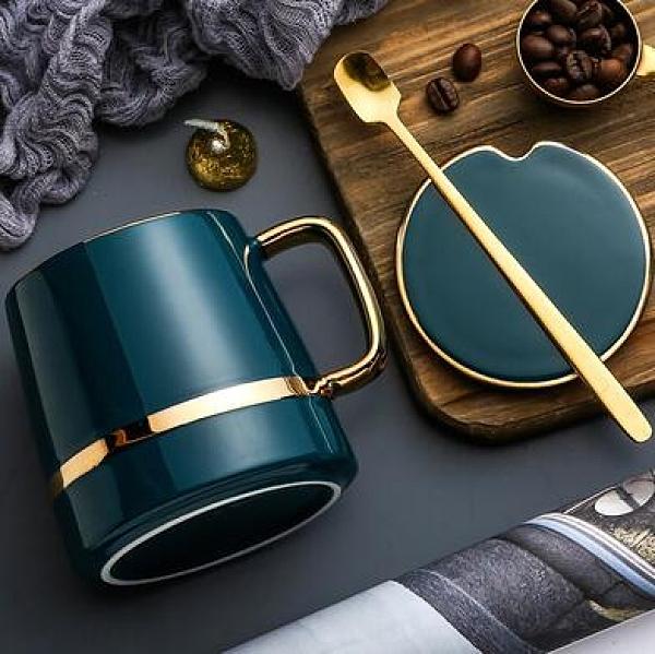 咖啡杯 歐式咖啡杯小奢華套裝高檔英式下午茶茶具精致的高級輕奢杯子【快速出貨好康八折】