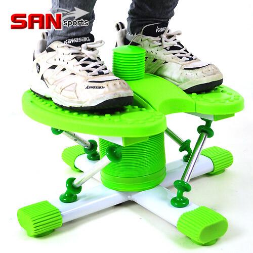 san sports瘋狂跳舞踏步機(結合跳繩.扭腰盤.跑步機.踏步機.呼拉圈)c129-1049